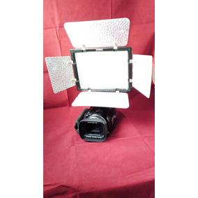 Camara Filmadora Hd 1080x920 Luz Led Y Microfono Tipo Balita