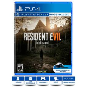 Resident Evil 7 Ps4 Biohazard Físico Nuevo Sellado