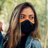 Máscara Fiber Knit Pride Preta