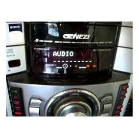 Equipo De Sonido Sony Genesis Mhc Gtx88 5 Cornetas Grande