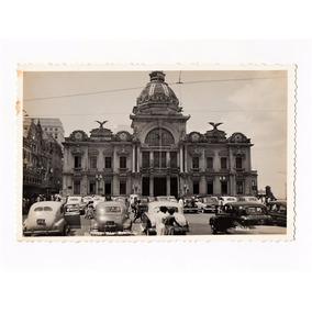 Cartao Postal Fotografico Palacio Rio Branco Bahia Anos 50
