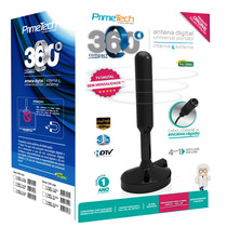 Antena Digital Uhf Universal Portátil - 360 - Cabo 1,5m