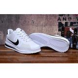 Zapatillas Nike Cortez Ultra Blanco / Negro Original Stock