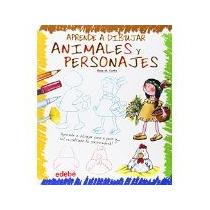 Libro Aprende A Dibujar Animales Y Personajes *cj
