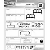 Juego Empacadura Chevrolet Blazer 262 Vortec 95-02 Fraco