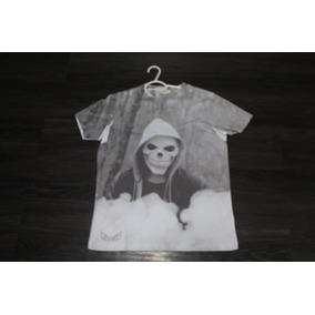 Camiseta Diesel Coruja + Camiseta Diesel Caveira (ambas P)