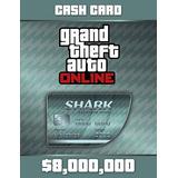 Grand Theft Auto V Tarjeta De Efectivo De Megalodon Shark -