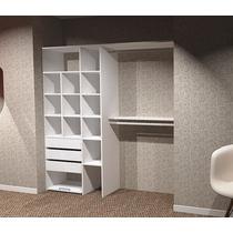 Combo Interior De Placard + Frente 200x260 Melamina Inplac!
