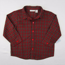 Bonita Camisa A Cuadros Para Niño First Impresions T 24 M