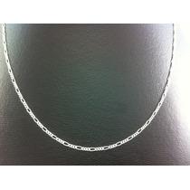 Cadena Delgada De Plata Ley 925 Tejido Cartier #c12