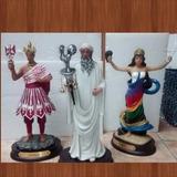 Santeria, Imagen En Barroco De Oshun Y Shango