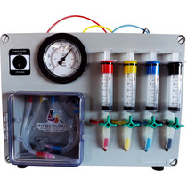 Maquina Recarga Cartucho Profissional - Vacuômetro Jc Color
