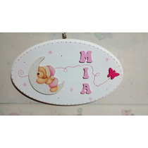 Cartel Con Nombre Para Bebes