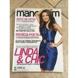 Revista Manequim 611 Patrícia Poeta Linda E Chic Festa Noite