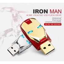 Pen Drive Homem De Ferro 16gb Os Vingadores Envio Imediato
