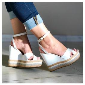 82f460dfa4 Tamanco Plataforma Dijean Branco Com Sandalias - Sapatos no Mercado ...