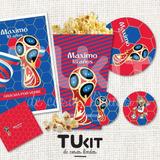 Kit Imprimible Pdf Mundial Rusia 2018 Candy Bar Promo 2x1