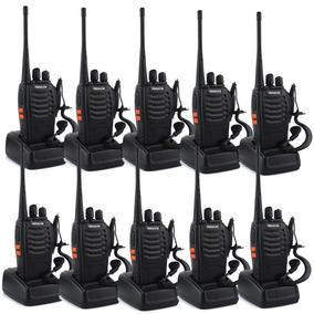 10 Radios Comunicación Portátil Retevis 2 Vías H-777