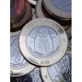 Monedas Conmemorativas 20 Pesos Plan Dn Iii Veracruz, Fuerza