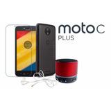 Moto C Plus Lte Doble Sim + Cristal + Minibocina