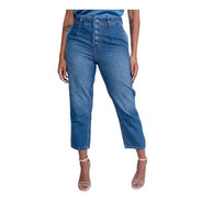 Calça  Revanche Valentina Jeans Mom Feminina