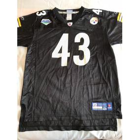 4fc9f282ca16a Nfl Jersey Polamalu Steelers Súper Bowl Xliii Talla S