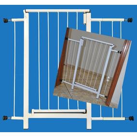 Portão Grade Proteção Porta Cachorro Pets Cães 84 Cm A 89 Cm