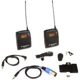 Sistema De Micrófono Lavalier Inalámbrico Portátil Ew 122-p