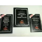 Codigo Penal + Cod Procesal Penal + C Organico De Tribunales