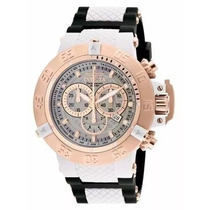 Relógio R71 Invicta Subaqua 0931 Noma 3 Branco Rose Original