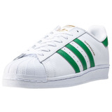 adidas Superstar Rayas Verdes Originales Con Caja