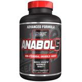 Anabol 5 Black Nutrex Ganho De Massa Magra 120 Caps