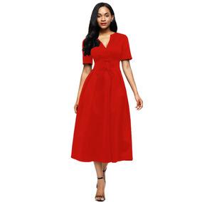 Vestido Bonito Rojo Promocion V448 8b463297bc3