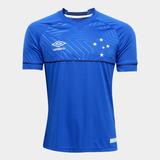 Camisa Oficial Masculina Umbro Cruzeiro 2018 Sem Número