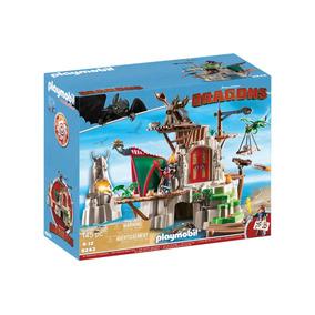 Playmobil Dragons 9243 Como Entrenar Tu Dragon Isla Mema