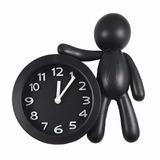Reloj Hombre Con Alarma Despertador Forma Muñeco Deco Salta