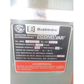 Capcitor Trifasico Balmex 10kvars 460 V