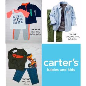 Conjunto 3pzs Carters Niño Nuevo Original Con Etiqueta
