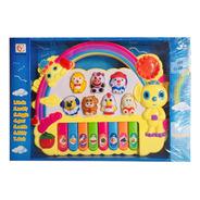 Piano Organo Musical Infantil Rainbow Luz Nuevo Bigshop