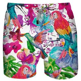 Traje De Baño Para Caballero Azul Siete Macaw