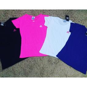 Blusa Feminina Camiseta adidas Nike Academia Dry Fit