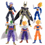 Dragon Ball Z Goku Vegeta Piccolo Figura Articulado 17 Cm