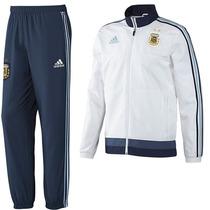 Conjunto Adidas Selección Argentina Modelo Pres Suit 2015/16