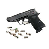Pistola Fogueo Bruni New Police 9mm + 25 Fogueos . Oferta !!