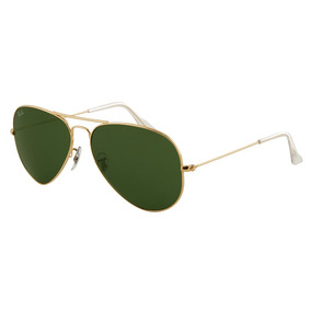Rayban Large Metal Aviator Rb3025 001 62mm Original Dourado