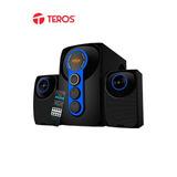 Parlantes Teros Te-5021, 70 Rms, Bluetooth, Lector Usb / Sd