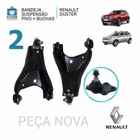 Jogo Bandeja Balança Renault Duster Completa Pivo + Bucha