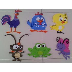Figuras De Gallina Pintadita Para Fiesta Infantil