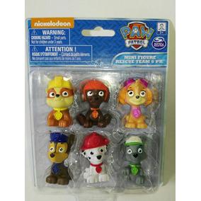 Paw Patrol Set De 6 Mini Figuras Patrulla Canina Perritos