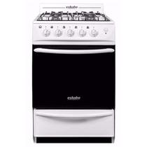 Cocina A Gas Eskabe Blanca 52cm Acero C/enc E3